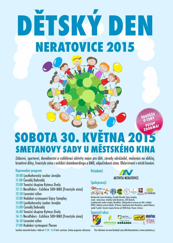 Dětský den 2015 plakát
