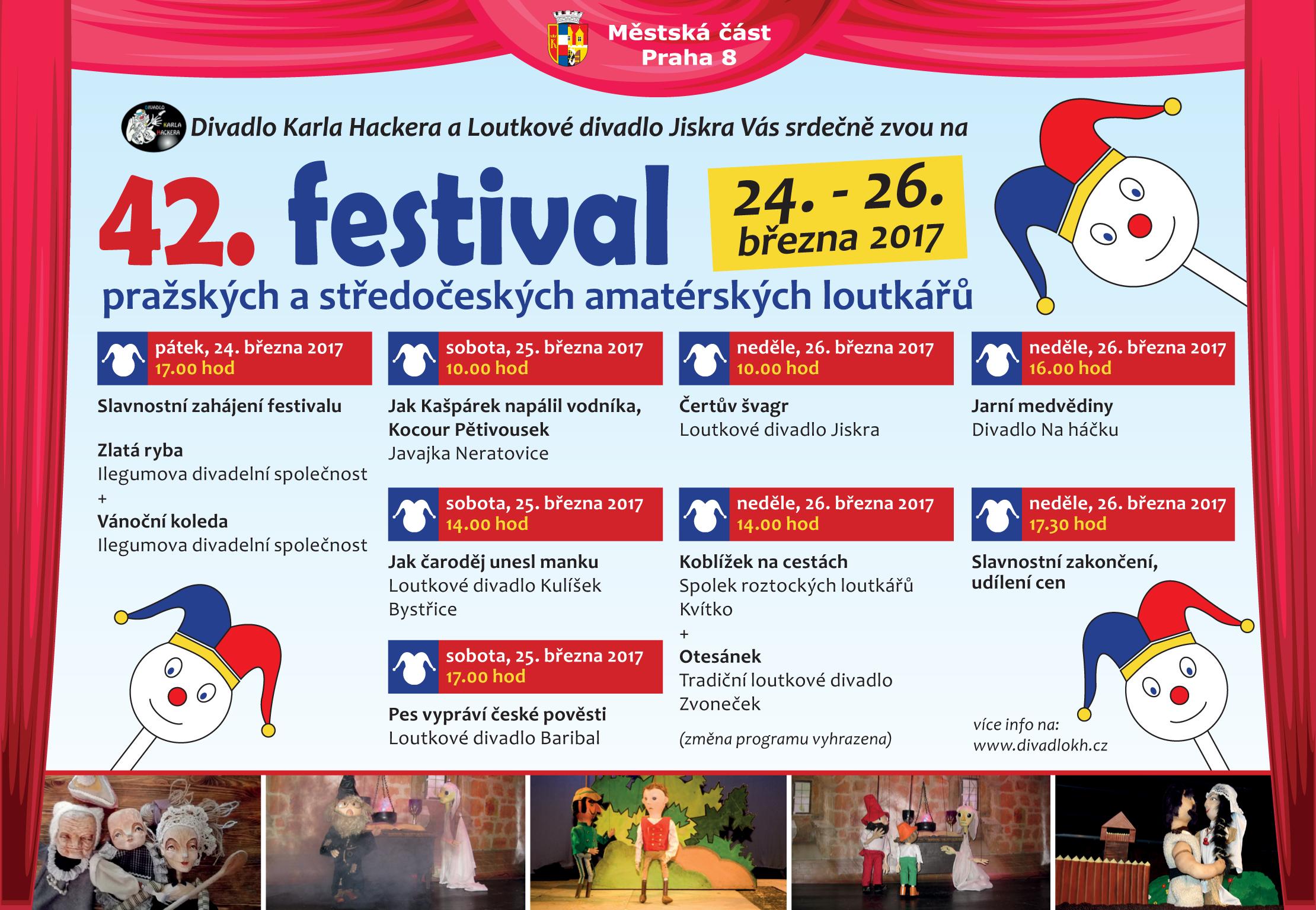 42 festival loutkářů